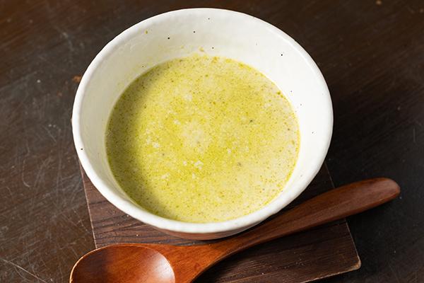 和利さく 出汁で作ったグリーンカレー