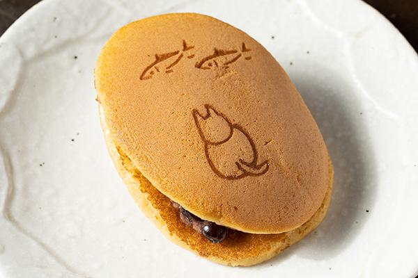 和菓子薫風謹製「猫に小判どら焼き」
